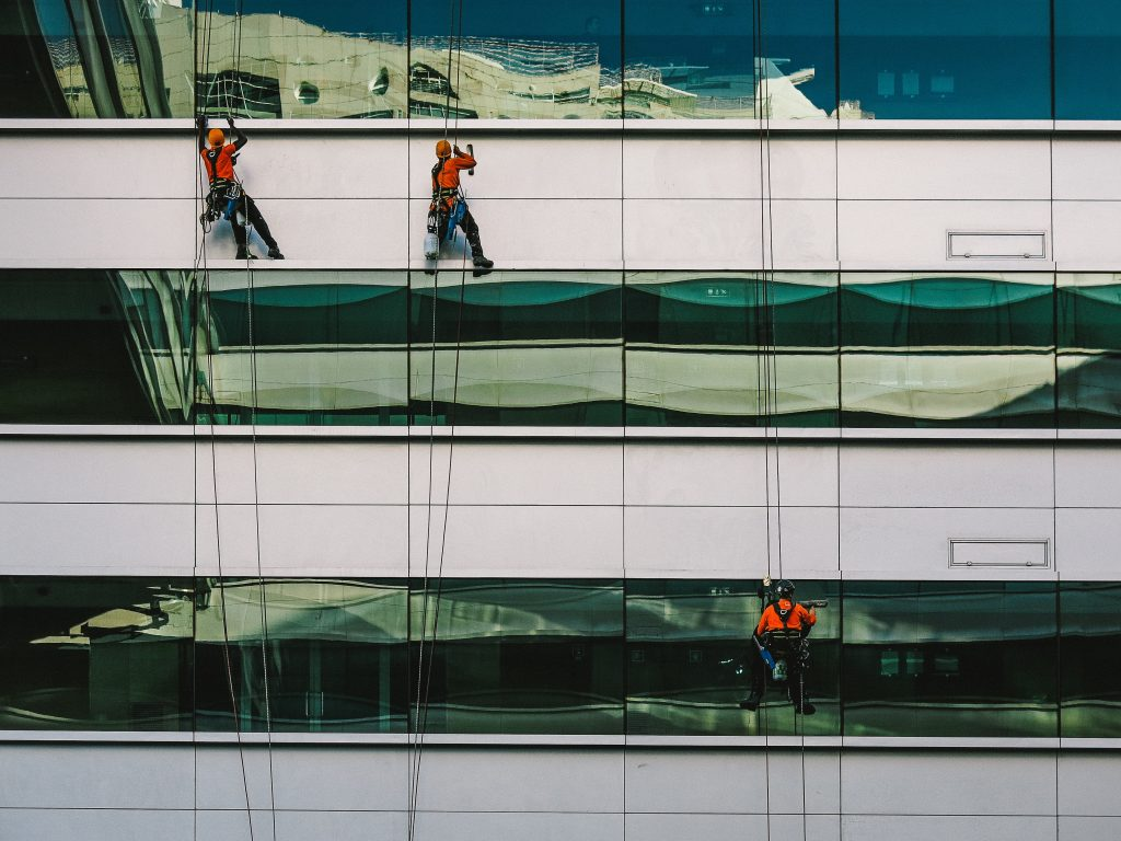 Final Construction Window Cleaning